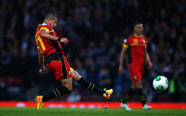 Scotland 0-2 Belgium: World Cup qualifying highlights
