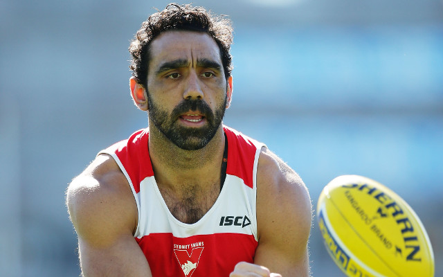 Adam Goodes poised to make his return from injury