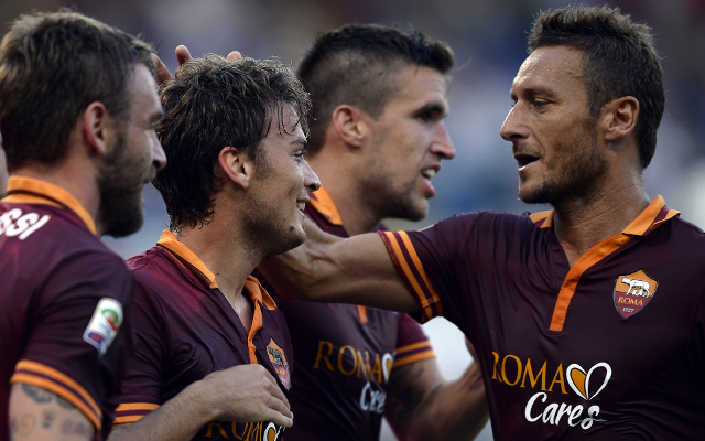 (Video) Serie A Highlights: Roma conquer San Siro with Francesco Totti double