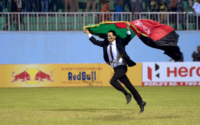 Afghan team rewarded with flats after SAFF win