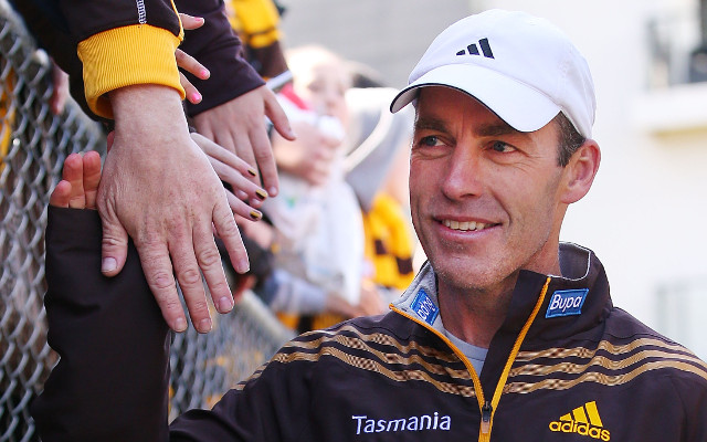Hawthorn defend coach Alastair Clarkson after post-match scuffle with Port Adelaide fan