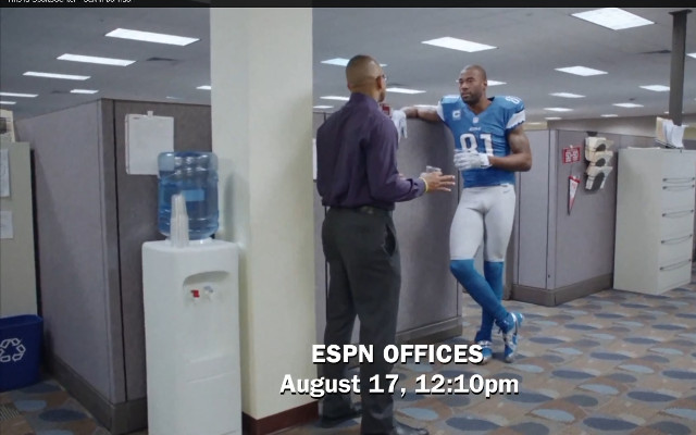 (Video) Calvin Johnson stars in the latest This is SportsCenter commercial