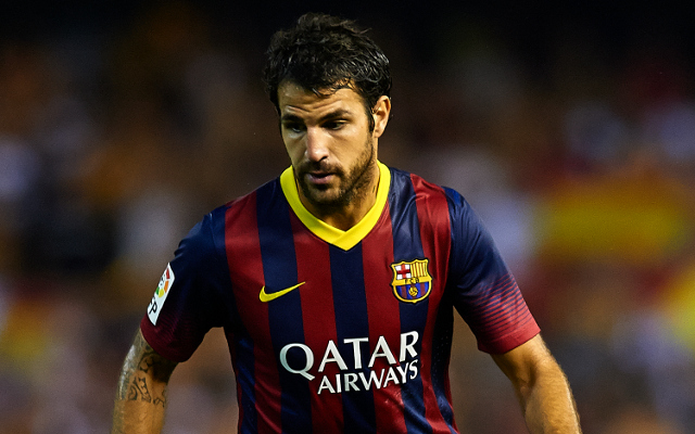(Image) Former Arsenal midfielder pays tribute to Cesc Fabregas