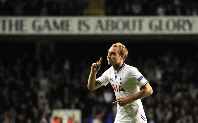 (Video) Tottenham star Christian Eriksen nutmegs small child; makes him cry