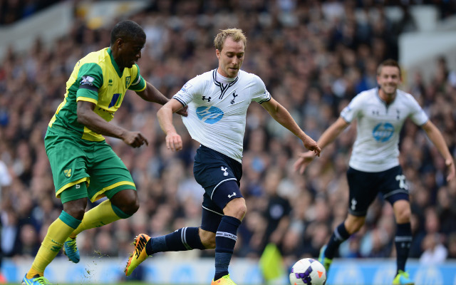 Christian Eriksen: Daniel Levy and Franco Baldini persuaded me to join Tottenham