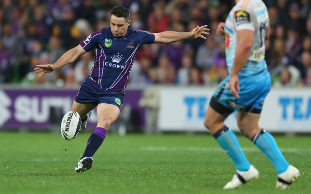 Cooper Cronk ends Gold Coast Titans' season with a field goal