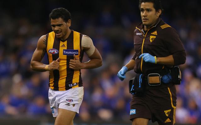 Hawthorn Hawks weigh up risking Cyril Rioli in first AFL final