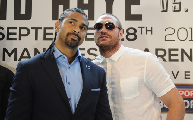 (Video) Boxing news: Tyson Fury mocks David Haye ahead of world title bout