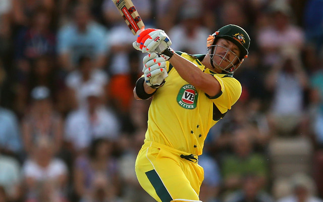 David Warner dropped from Australian One-Day side