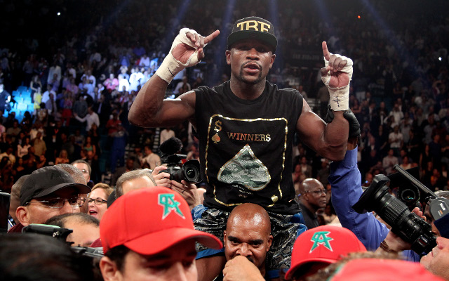 Floyd Mayweather says the time is right for battle with Manny Pacquiao