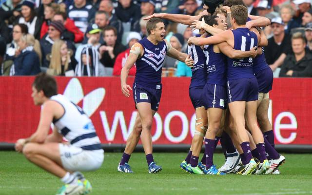 (Video) Fremantle Dockers stun Geelong in AFL finals upset
