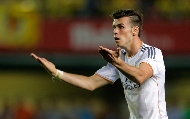 (Video) Ouch – Real Madrid superstar out injured after being kicked in the Gareth Bales