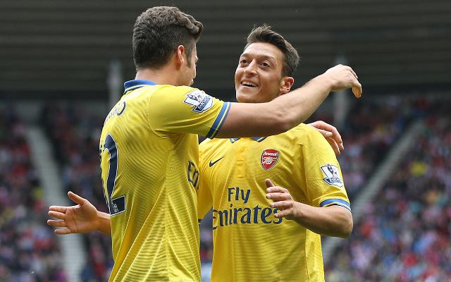 Giroud Ozil Arsenal