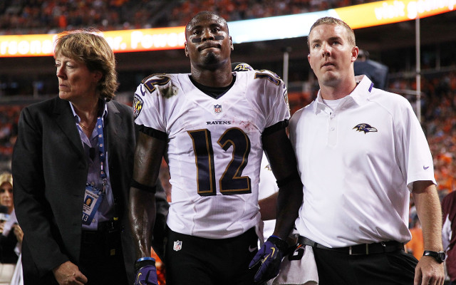 Baltimore Ravens lose wide receiver to injury for at least a month