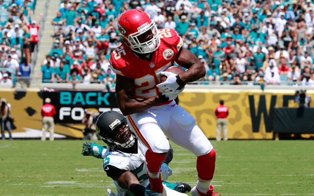 Kansas City Chiefs running back says he is fit to play Dallas