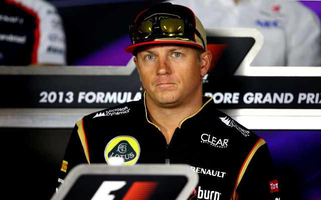 Kimi Raikkonen at loggerheads with Lotus over continued pay dispute