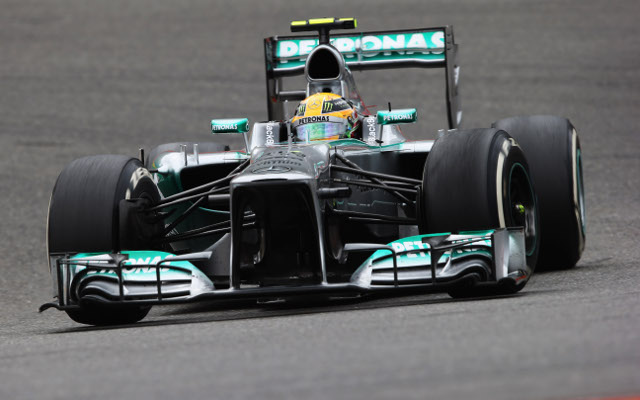 Lewis Hamilton fastest in first Italian Grand Prix practice session