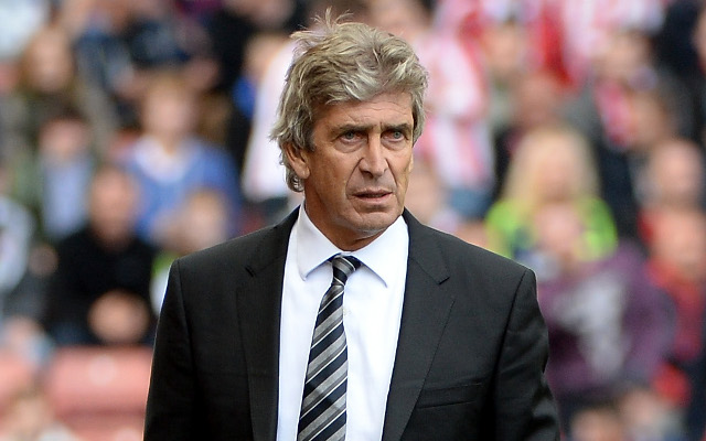 (Video) Man City boss Manuel Pellegrini thinks he manages Manchester United