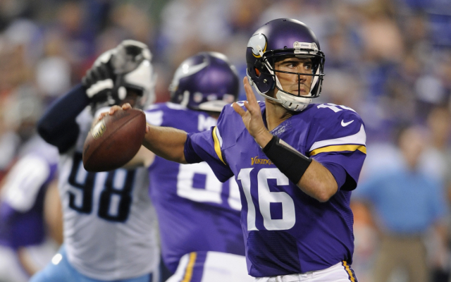 Matt Cassel to start for Minnesota Vikings at Wembley
