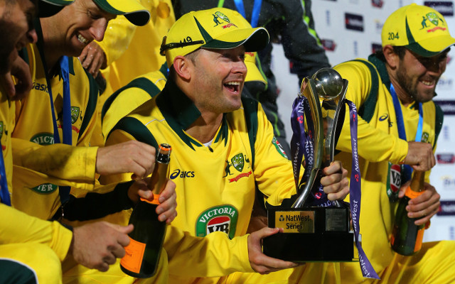 Australian batsman Michael Clarke says he will be fit to tour India