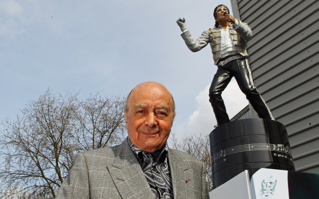 Fulham to remove statue from Michael Jackson from outside Craven Cottage