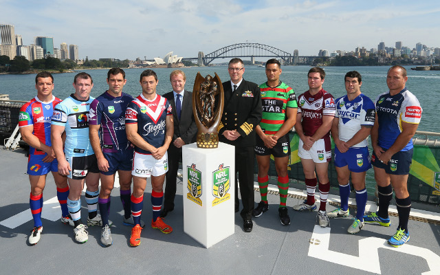 Sydney Roosters preapre for their NRL finals charge
