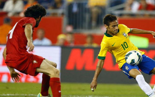 Barcelona star Neymar scores as Brazil beat Portugal