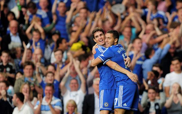 Oscar Hazard Chelsea
