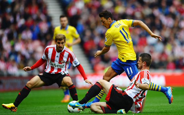 Arsenal's Mesut Ozil is 'magic', claims Sunderland boss Di Canio
