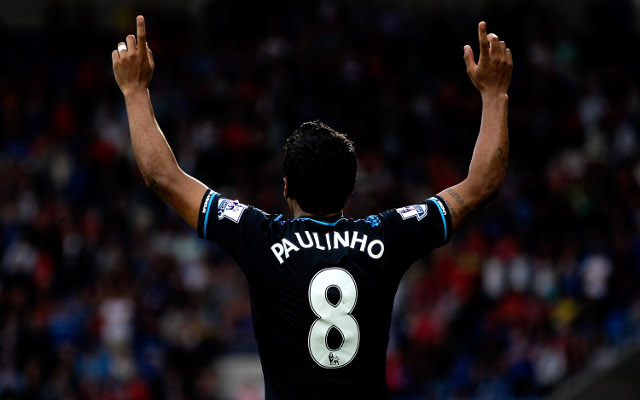 DONE DEAL! Tottenham flop Paulinho leaves for Chinese club Guangzhou Evergrande in £9.8m transfer