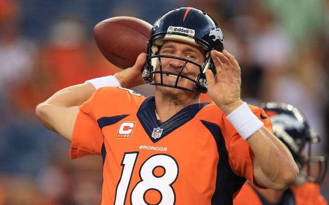 Denver Broncos QB Peyton Manning's new contract includes no-trade clause