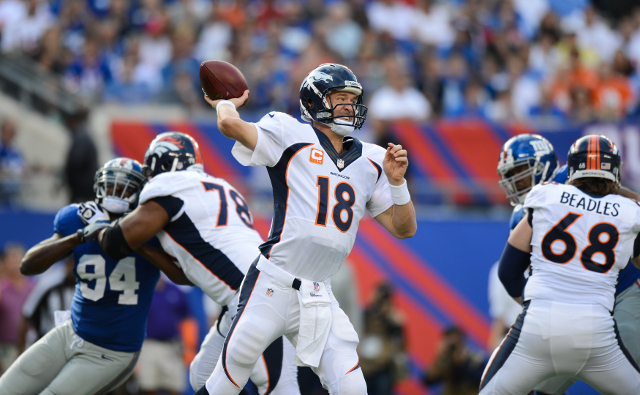 Denver Broncos beat the New York Giants to remain undefeated