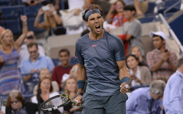 Rafael Nadal storms his way into another US Open semi-final