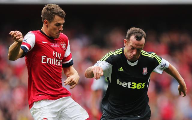 Ramsey Adam Arsenal Stoke