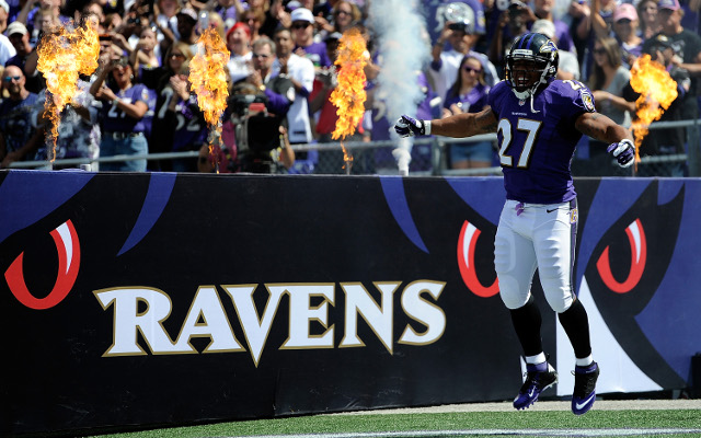 Baltimore Ravens to offer jersey exchange on Rice jerseys