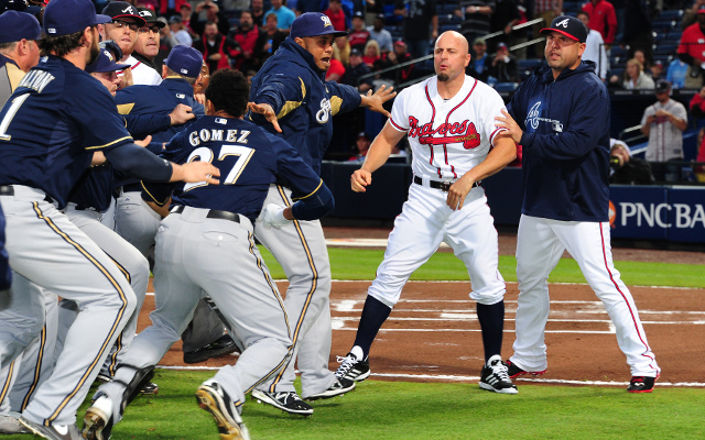 MLB hits Carlos Gomez and Reed Johnson with fines after fight