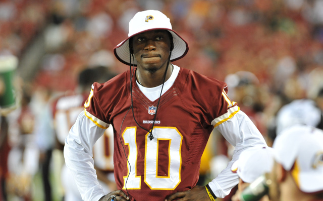 RUMOR: Washington head coach Jay Gruden could bench RGIII for bad performance