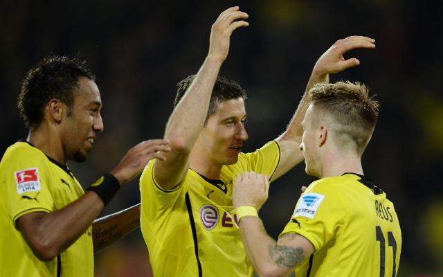 Robert Lewandowski Borussia Dortmund