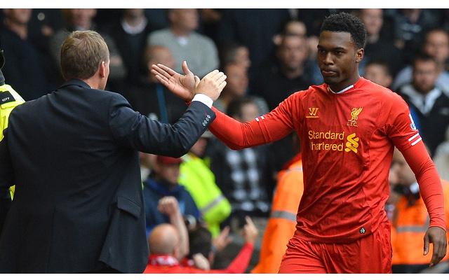 Brendan Rodgers Daniel Sturridge Liverpool