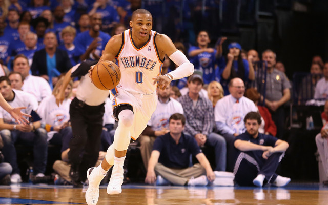 Russell Westbrook injury latest: Oklahoma City guard off crutches after surgery