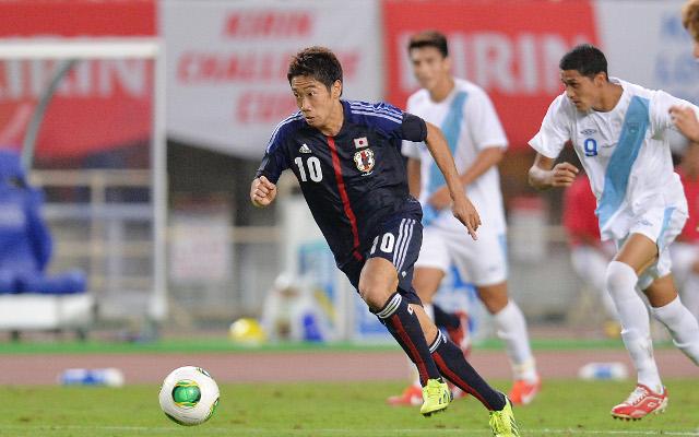 Stunner from Man United's Kagawa stunner inspires Japan to win against Ghana