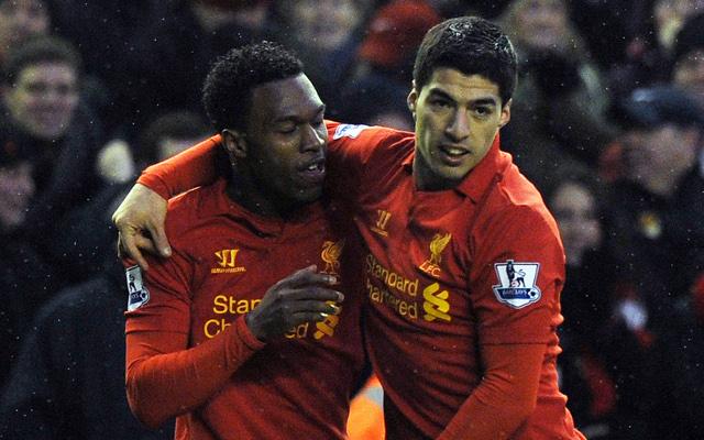 Sturridge Suarez Liverpool