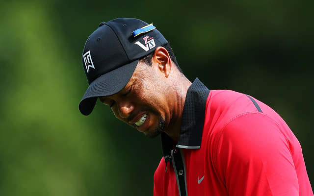 Tiger Woods says his back injury is behind him