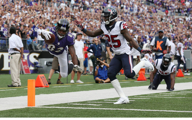 Baltimore Ravens overcome slow start to down Texans
