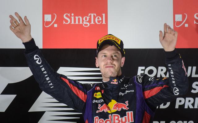 Untouchable Sebastian Vettel storms to Singapore Grand Prix treble for Red Bull