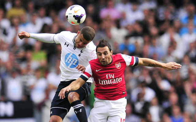 Walker Cazorla Tottenham Arsenal