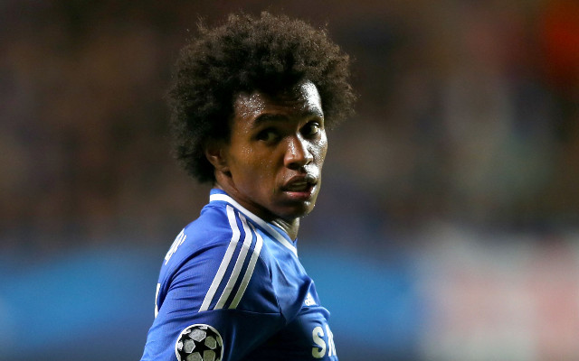 (Image) Chelsea's Brazilian Willian swims with friendly dolphin on holiday