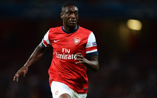 Arsenal striker Yaya Sanogo to join Crystal Palace on loan