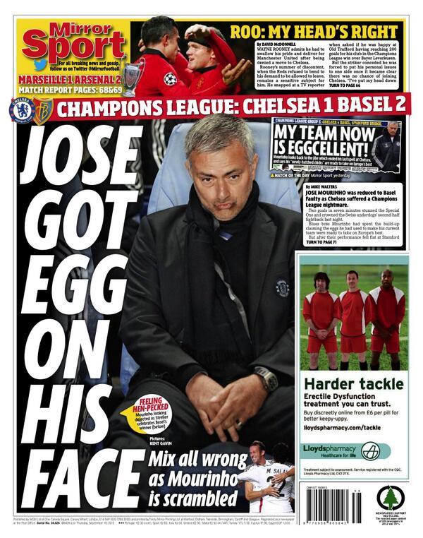 Daily Mirror Mou