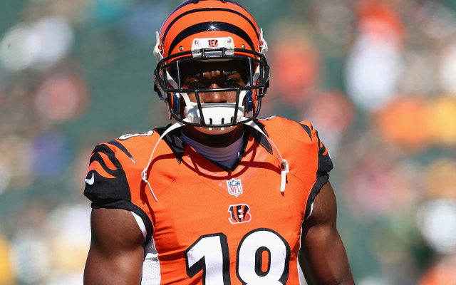 OUT: Cincinnati Bengals WR Jones out with ankle injury